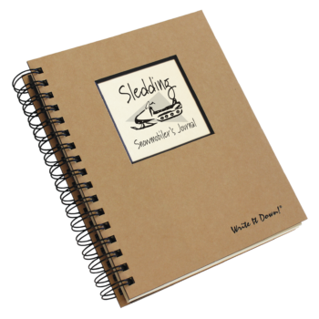 Sledding Snowmobiler's Journal