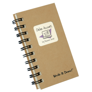 Online Accounts, My Password Journal