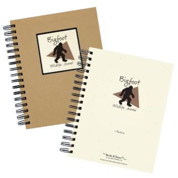 Wild Life - My Nature Journal (Bigfoot Edition)