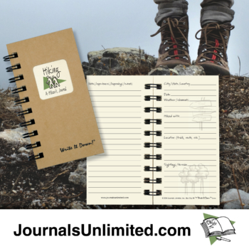 Hiking A Hiker's Journal