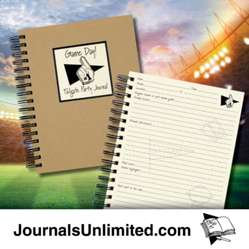 Game Day -Tailgate Party Journal
