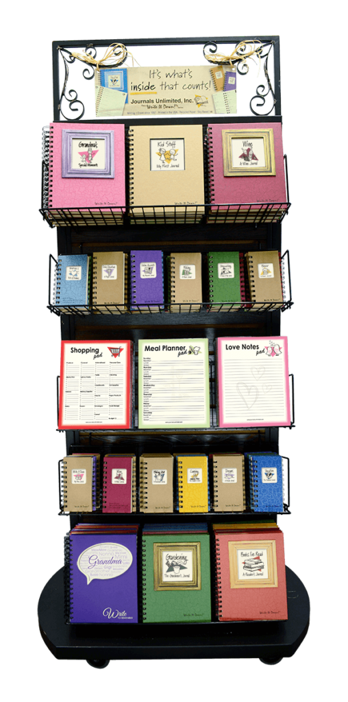 journals unlimited 2-sided display