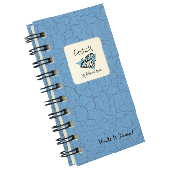 The Contacts Address Book Mini Journal
