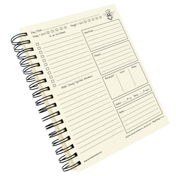 The Day Planner Journal Inside