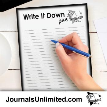Jumbo Notepad - Write it Down