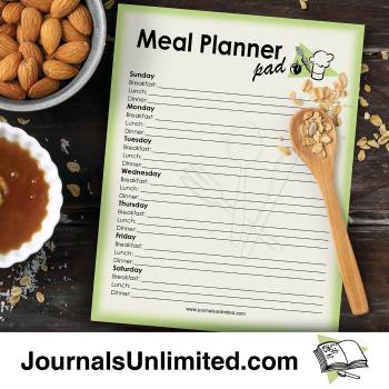 Jumbo Notepad - Meal Planner