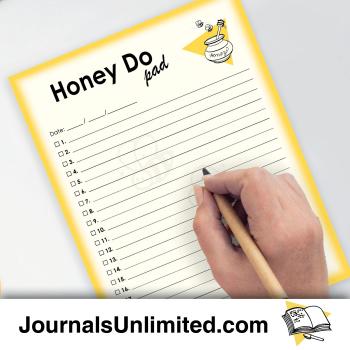 Jumbo Notepad - Honey Do