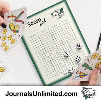 Jumbo Notepad - Score Keeper