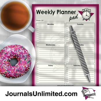 Jumbo Notepad Weekly Planner