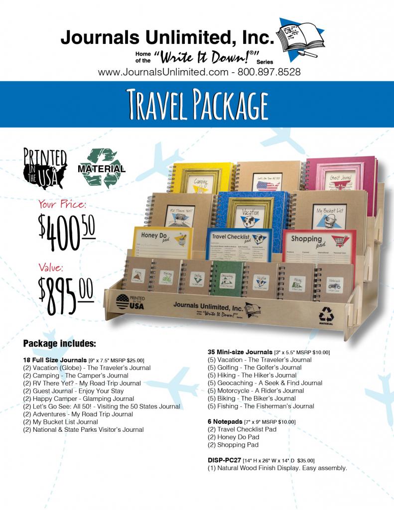 Travel Display Package